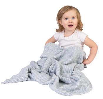 Dětský pléd BabyMatex Tully - šedý  - 2
