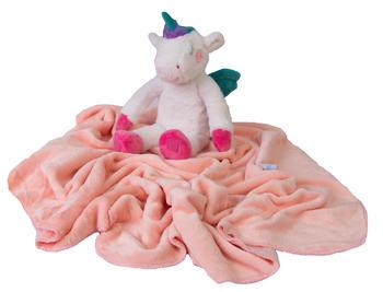 Dětská deka BabyMatex Carol - jednorožec  - 2