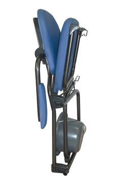 Křeslo toaletní skládací BEST UP modré  - 3