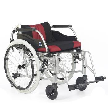 Invalidní vozík Timago WA C2600, černo-bordó  - 3