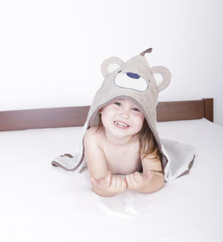Osuška s kapucí Baby Matex Jimmy - medvídek  - 3