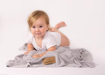 Dětská deka BabyMatex Thai Bamboo - šedá  - 3