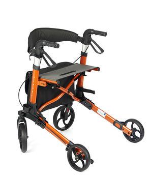 Chodítko čtyřkolové YOLA -oranžová - 3