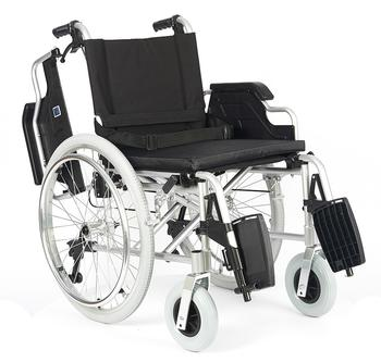 Invalidní vozík Timago FS 908 LJQ/51 - 51 cm / černý / 120kg - 4
