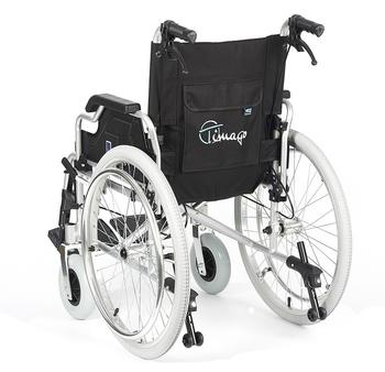 Invalidní vozík Timago FS 908 LJQ - 41 cm / černý / 100kg - 4
