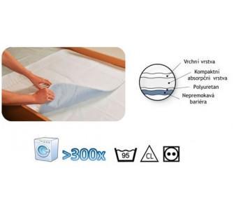 Abri Soft textilní podložka se záložkami 75 x 85cm 1ks  - 4