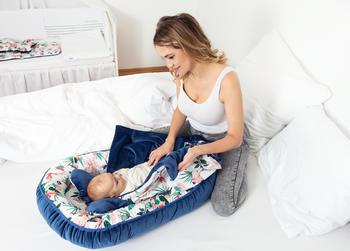 Hnízdečko BabyMatex Velvet  - 4