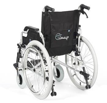 Invalidní vozík Timago FS 908 LJQ/51 - 51 cm / černý / 120kg - 5