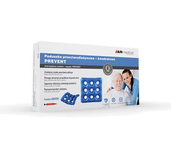 Antidekubitní sedák vzduchový PREVENT 44x44x4  - 5