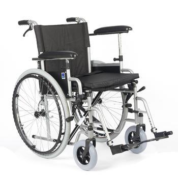 Invalidní vozík Timago H011 BD 46 cm s nafukovacími koly, nosnost 115kg - 5