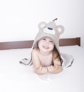 Osuška s kapucí Baby Matex Jimmy - sova  - 5