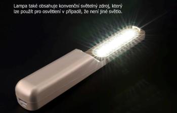 Ruční germicidní lampa, bílá  - 5