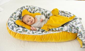 Hnízdečko BabyMatex Velvet  - 5