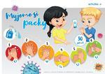 Správný postup pro dezinfekci rukou pro děti