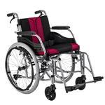 Invalidní vozík Timago WA C2600, černo-bordó - 1/4
