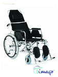 Invalidní vozík polohovací Timago FS 954 LGC, - 1/3